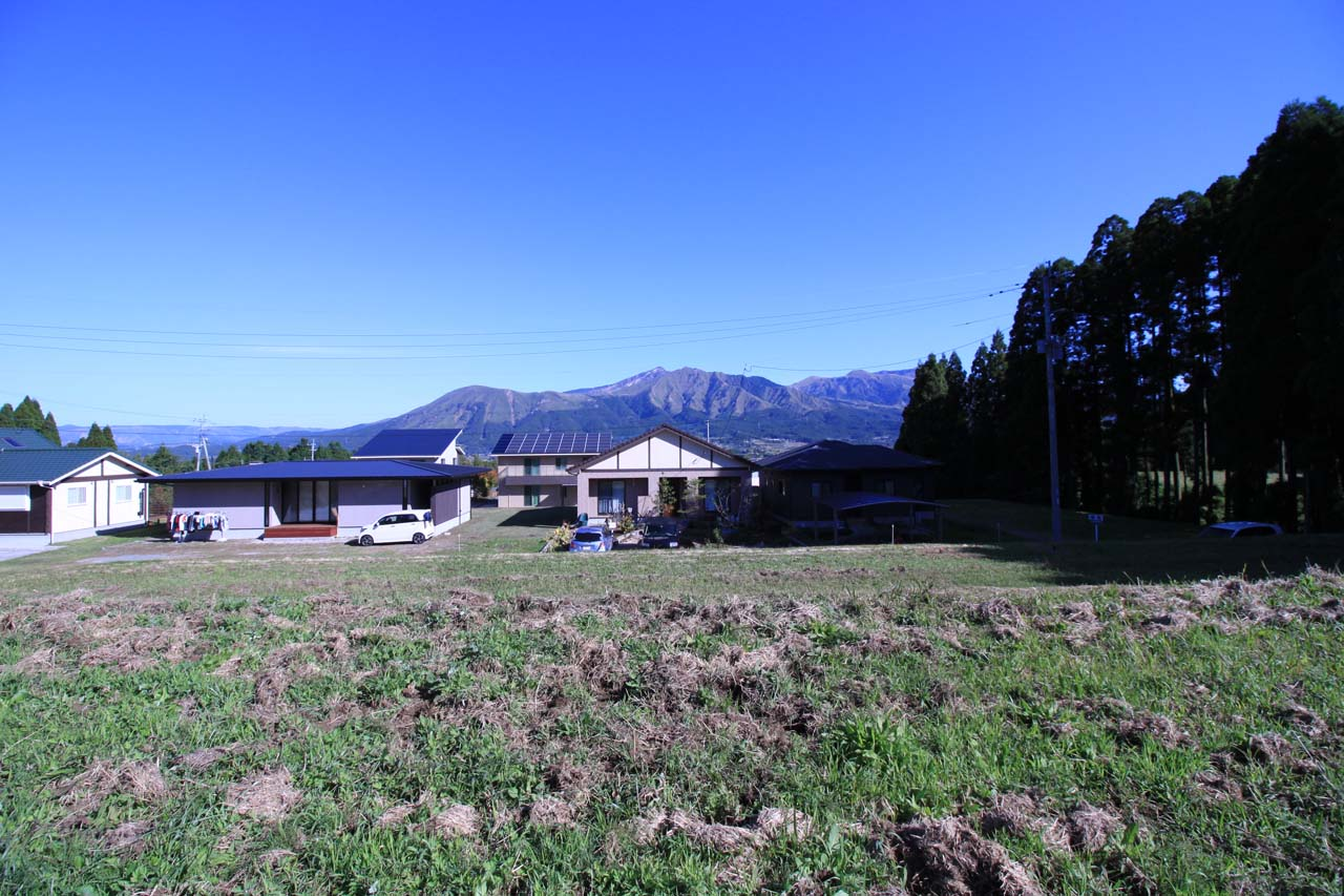 敷地北側の風景