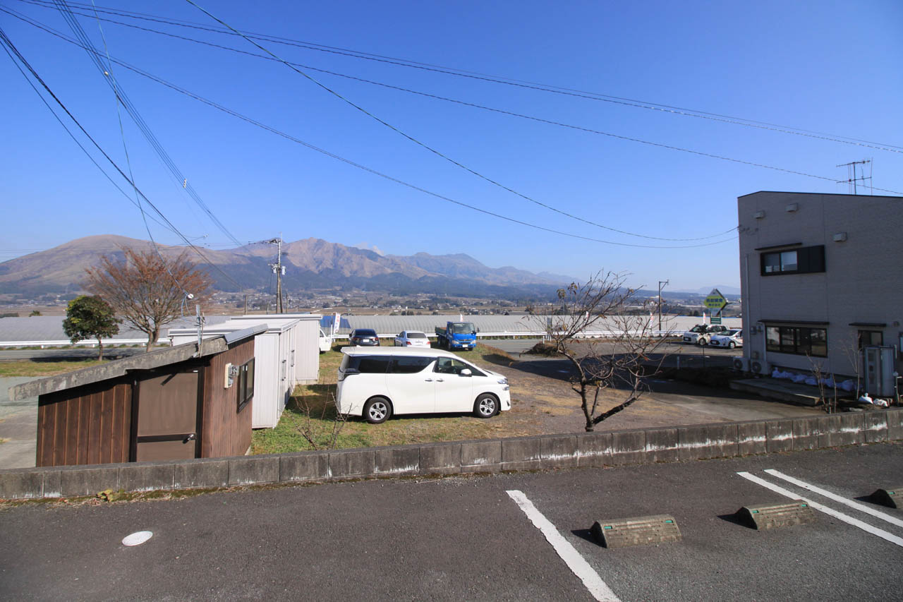 駐車場からの眺望