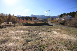 敷地南側の風景