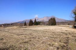 敷地からの高岳