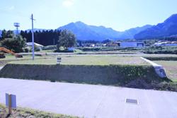 敷地全体と南西側の風景