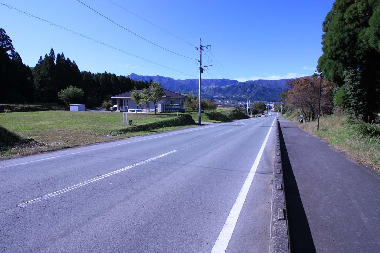 前面道路の県道