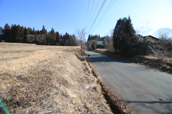 物件から見た南側の広域農道