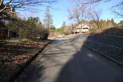前面の分譲地共有道路
