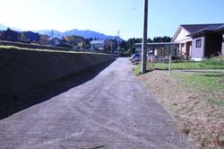 北側の共有道路