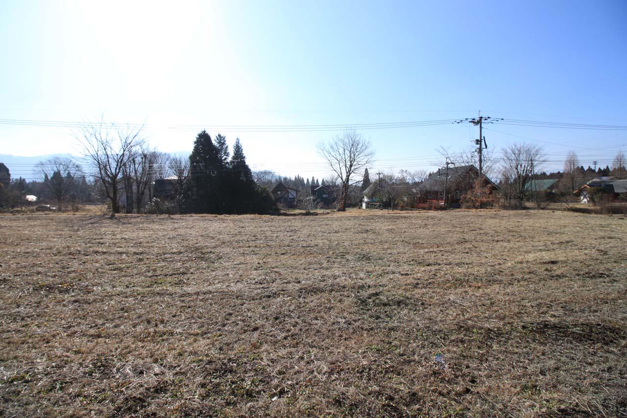 敷地から見た南側の風景