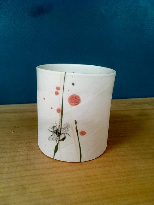 tasse à thé cylindre bourdon