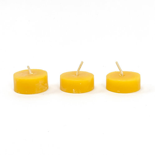 Beeswax Tealight Candle (3 for $5)