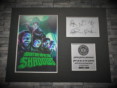 What We Do In The Shadows Signed Autograph Display ( Cast )