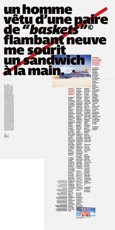 Faits-divers typographiques