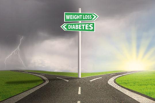 Healthy lifestyle or diabetes