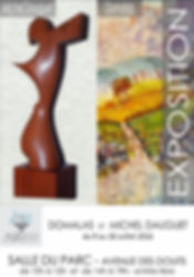 Invitation Domalas et Michel Dauguet ArtBC
