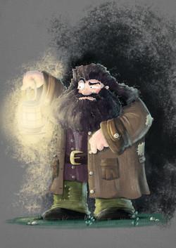 Hagrid character design
