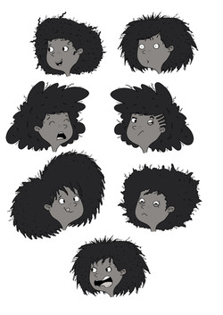 Ivy character designs