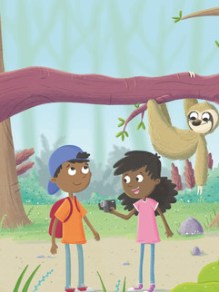 Speedy Sloth Book in USA