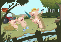 the great pig escape