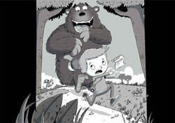 Bigfoot chase