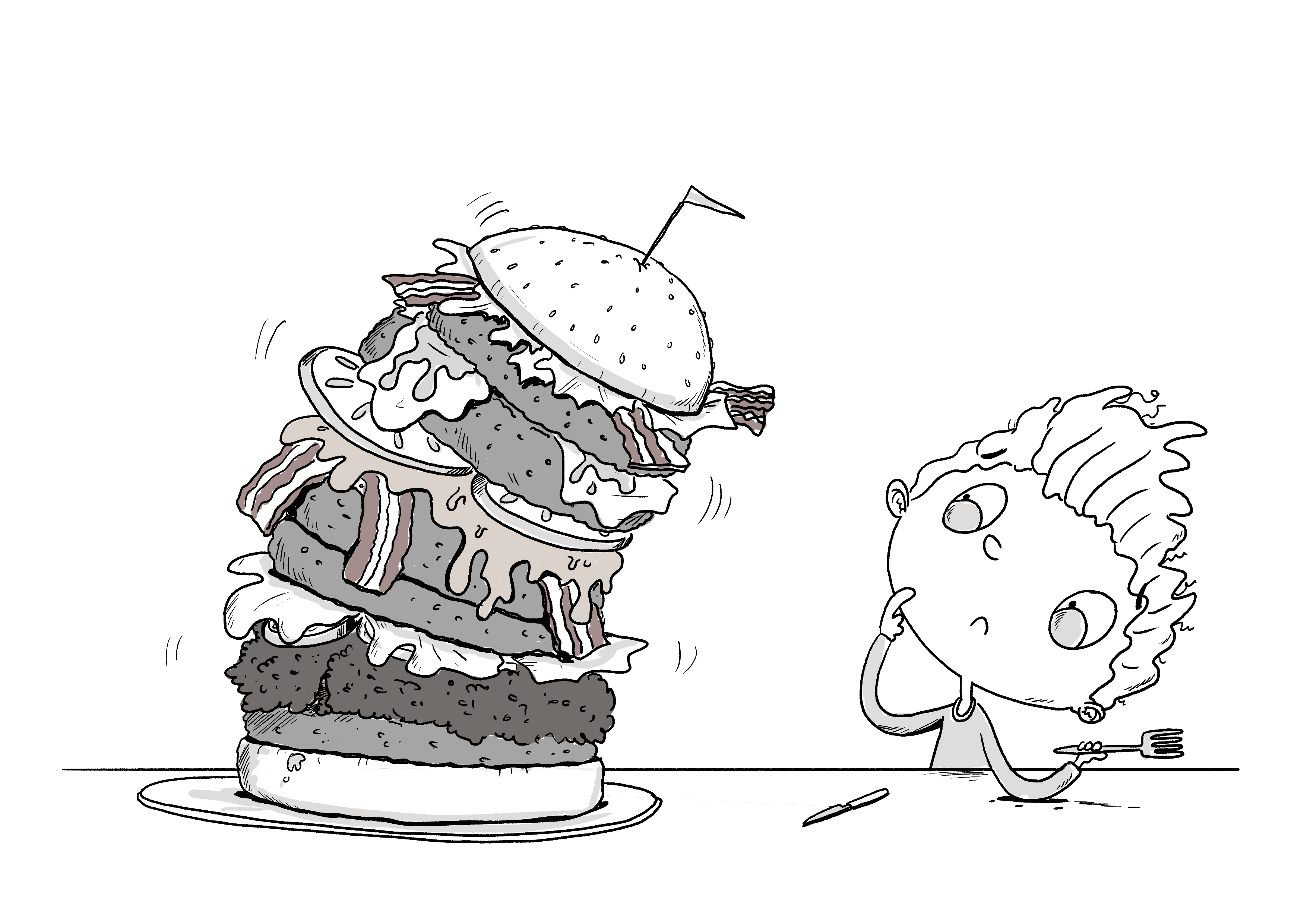 burger tower