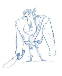 Pirate sketch