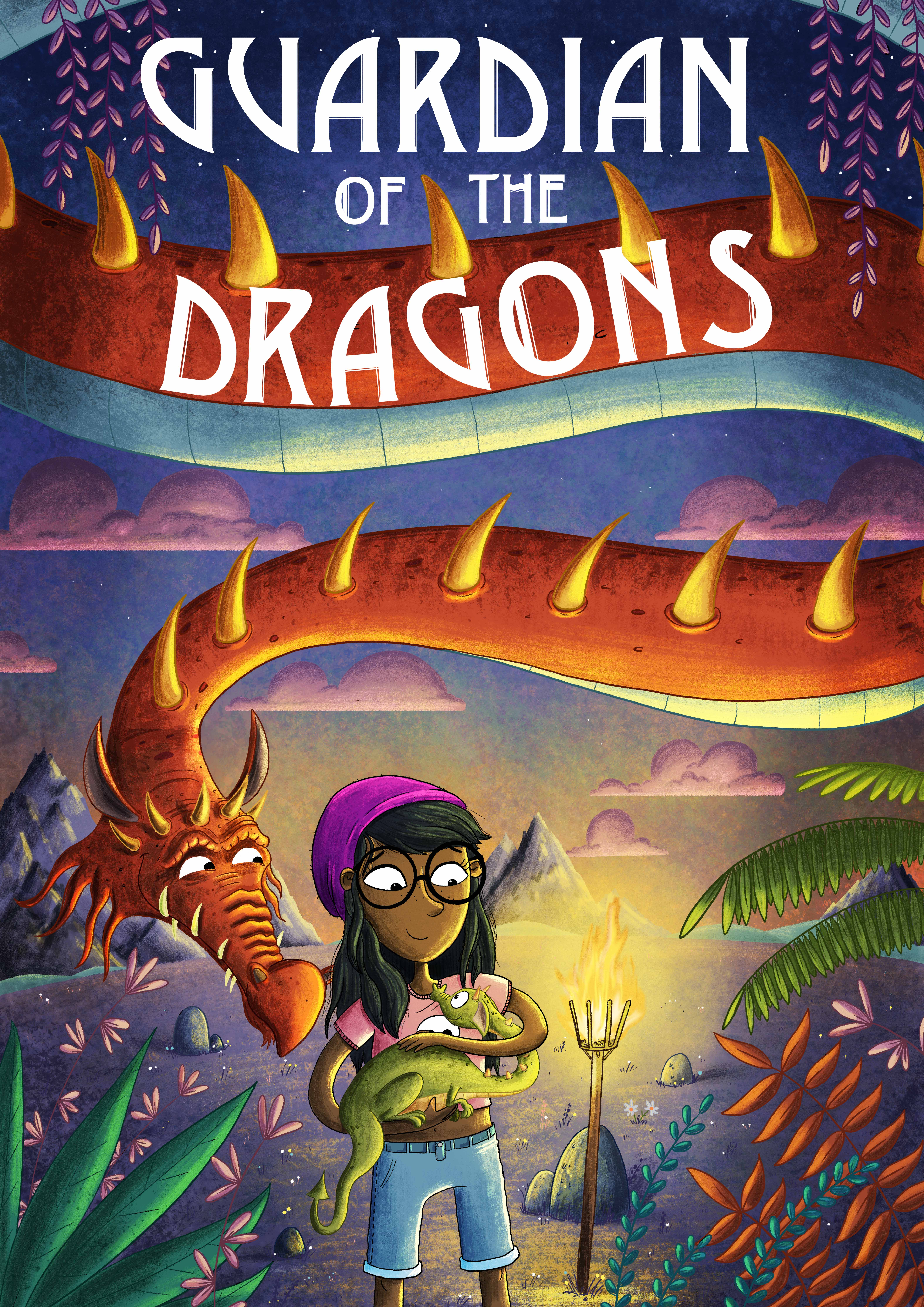 Dragon chapter book cover