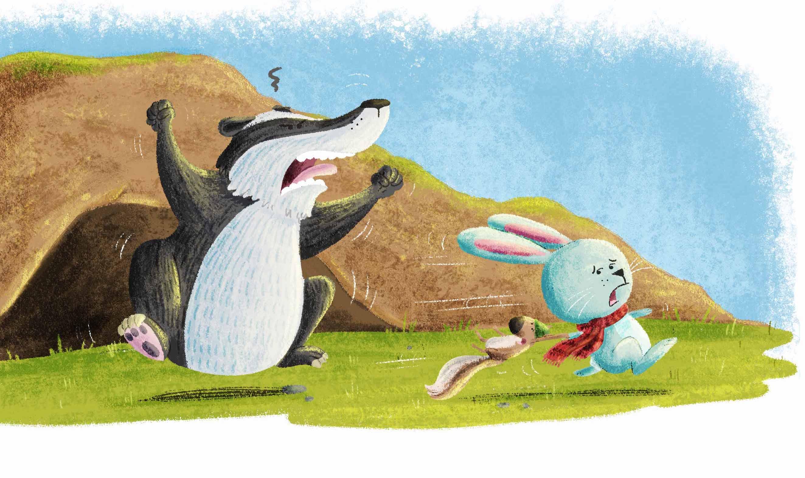 Rabbit and Squirrel
