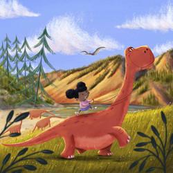 Dinosaur Daydreaming