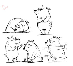 bear doodles