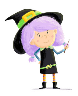 Witch colour example