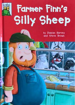Farmer Finn's silly sheep.