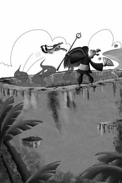 Chapter 8 image 4 suki jumping at tengu