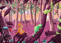 purple jungle