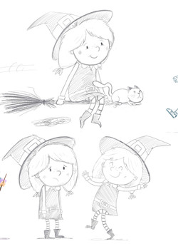 witch character designs