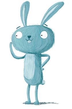 rabbit pencil
