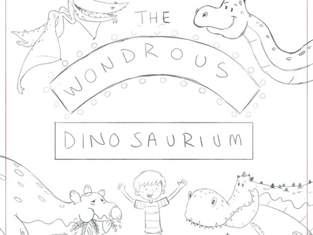 The Wondrous Dinosaurium Roughs
