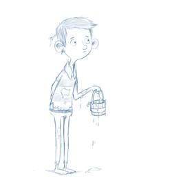 pirate boy sketch