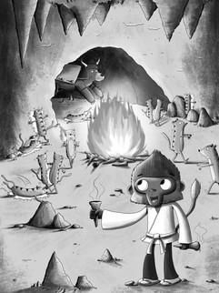 Warrior Monkeys and theVolcano Adventure