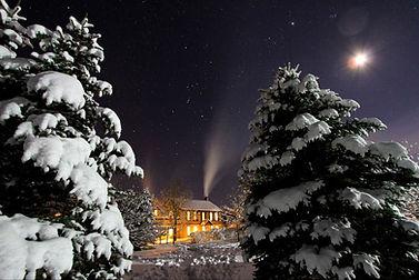 Northern Michigan winter view