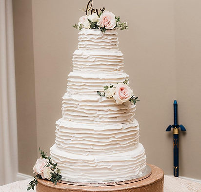 Dallas wedding cake