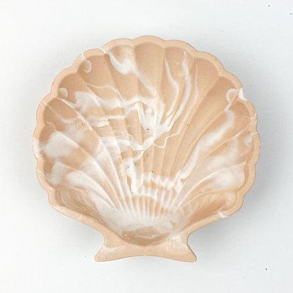 Shell Trinket Tray - Beige