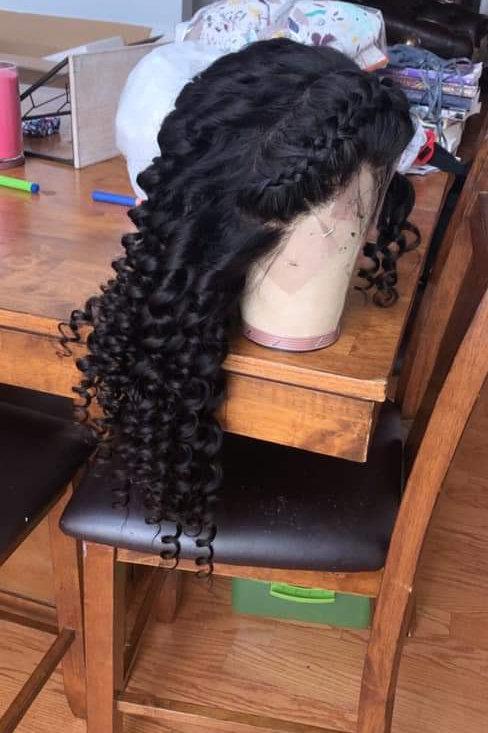 24' Deep Wave Frontal Wig