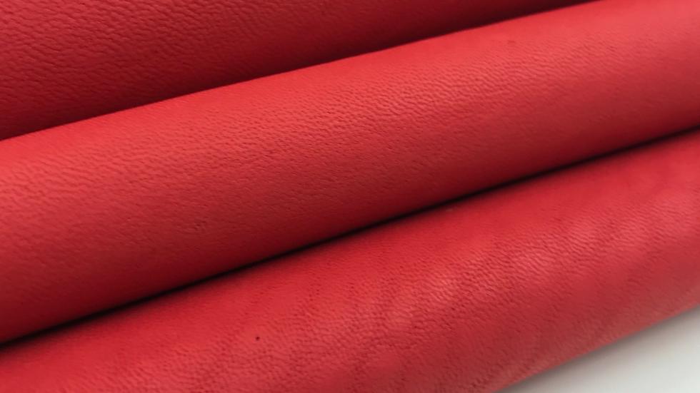 Merino Leather - Pompeian Red