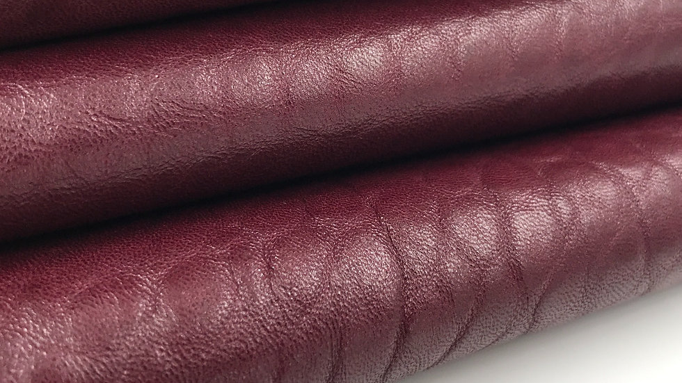Merino Leather - Burgundy