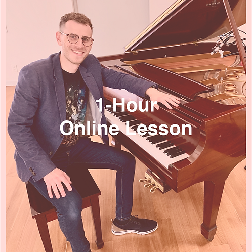 1-Hour Online Lesson