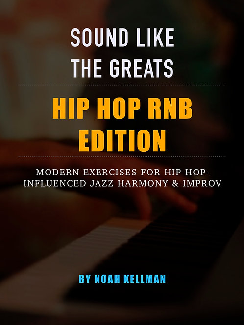 Sound Like The Greats: Hip Hop & R'n'B (NEO SOUL EXERCISES)
