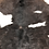 Thumbnail: VIZELLO Silken Baby Calf ® - Black and White, hint of Chocolate