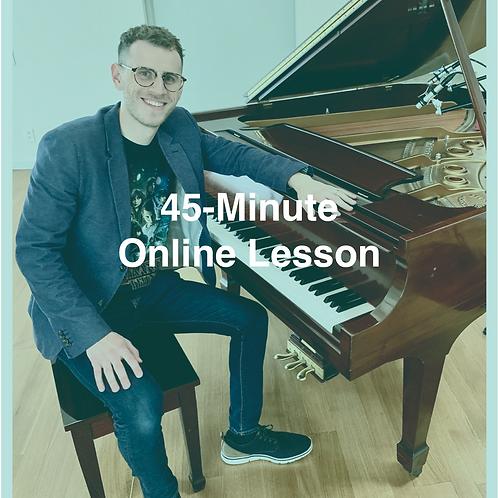 45-Minute Online Lesson