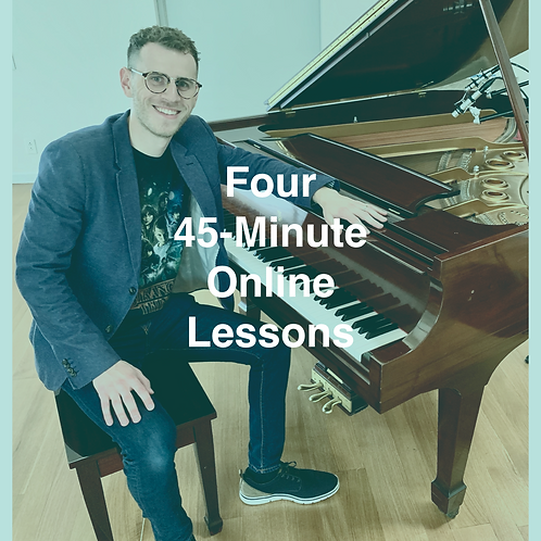 Four 45-minute Online Lessons