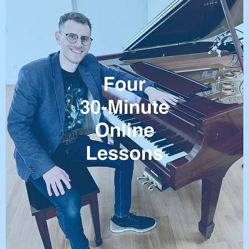 Four 30-minute Online Lessons