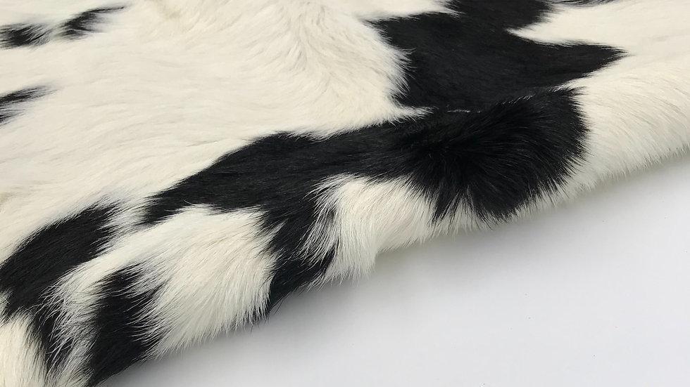 VIZELLO Silken Baby Calf ® - Black and White