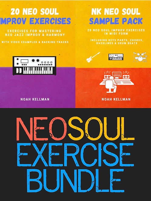 Neo Soul Improv Exercises Bundle